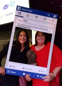 Left to Right: Momentum Support Alana Dunican, HR Director and Geraldine Monaghan, Account Manager.