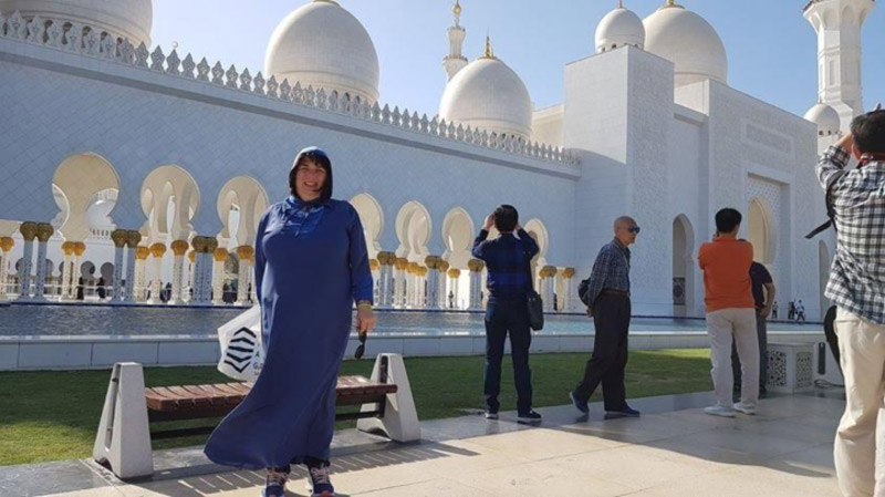 Grand Mosque  -When in Abu Dhabi do as the locals do!