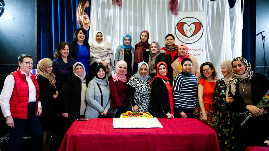 Amal Women Association was delighted to have Verona Pentony as speaker on Women's International day to talk about peace and read her beautiful poem